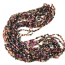 Tourmaline 4-7mm Chip Beads 36 inch